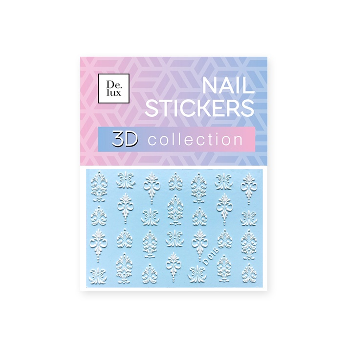Наклейки для ногтей De.Lux D018