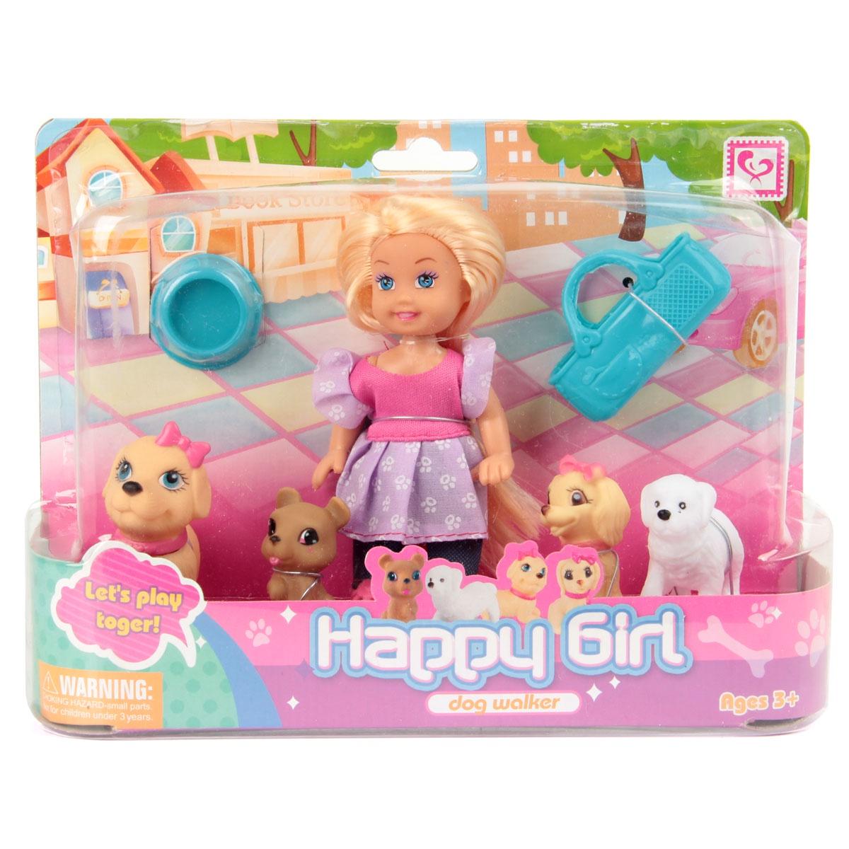 Игровой набор с куклой Veld Co 62971 veld co игровой набор с мини куклой русалка и морской конек цвет желтый розовый