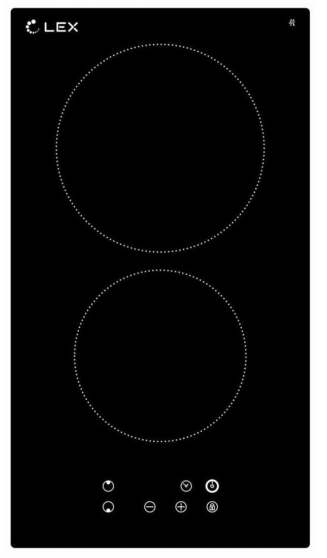 Варочная панель LEX EVH 320 BL, черный