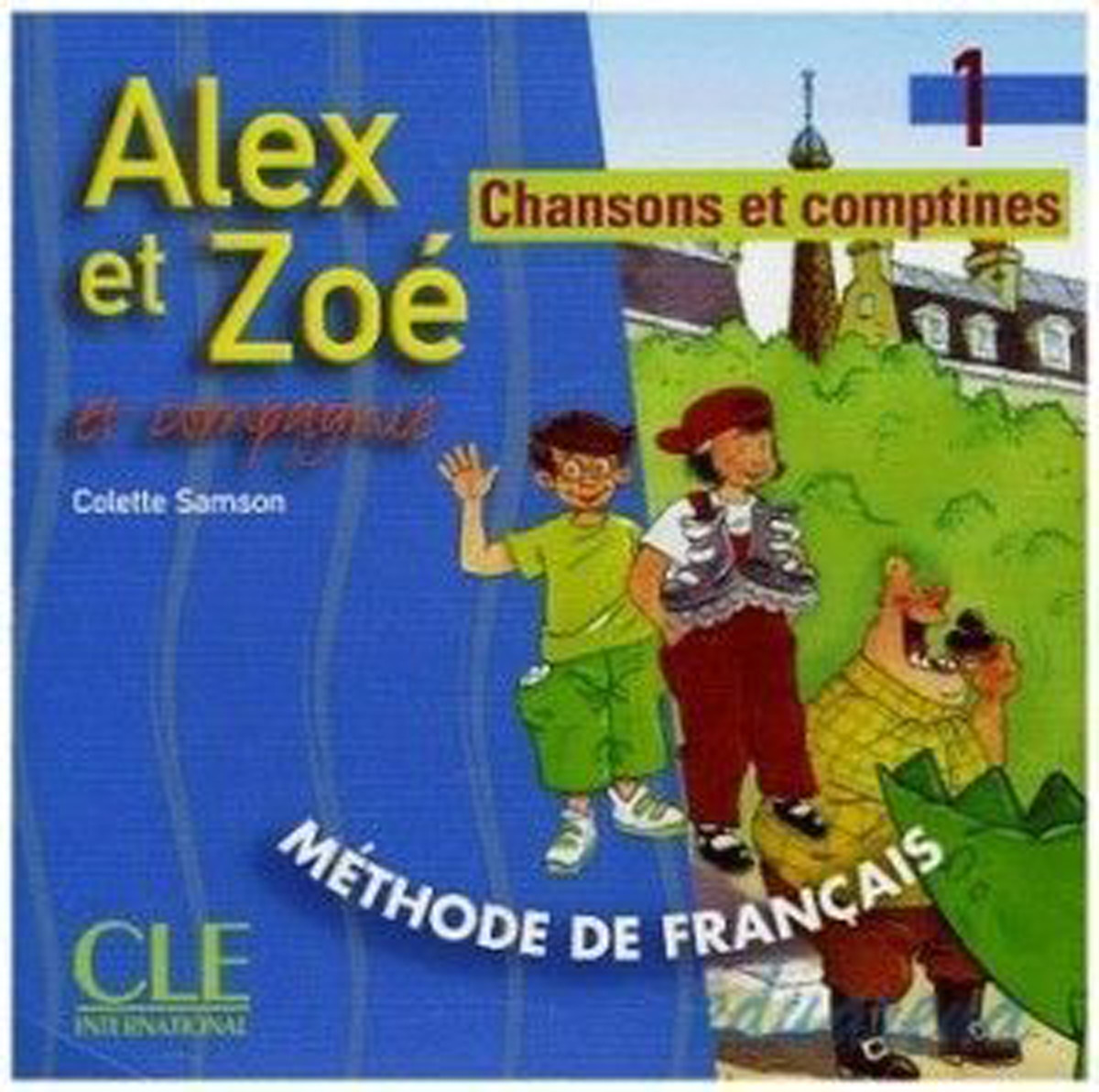 Alex et Zoe 1 Nouvelle Edition - CD audio individuel