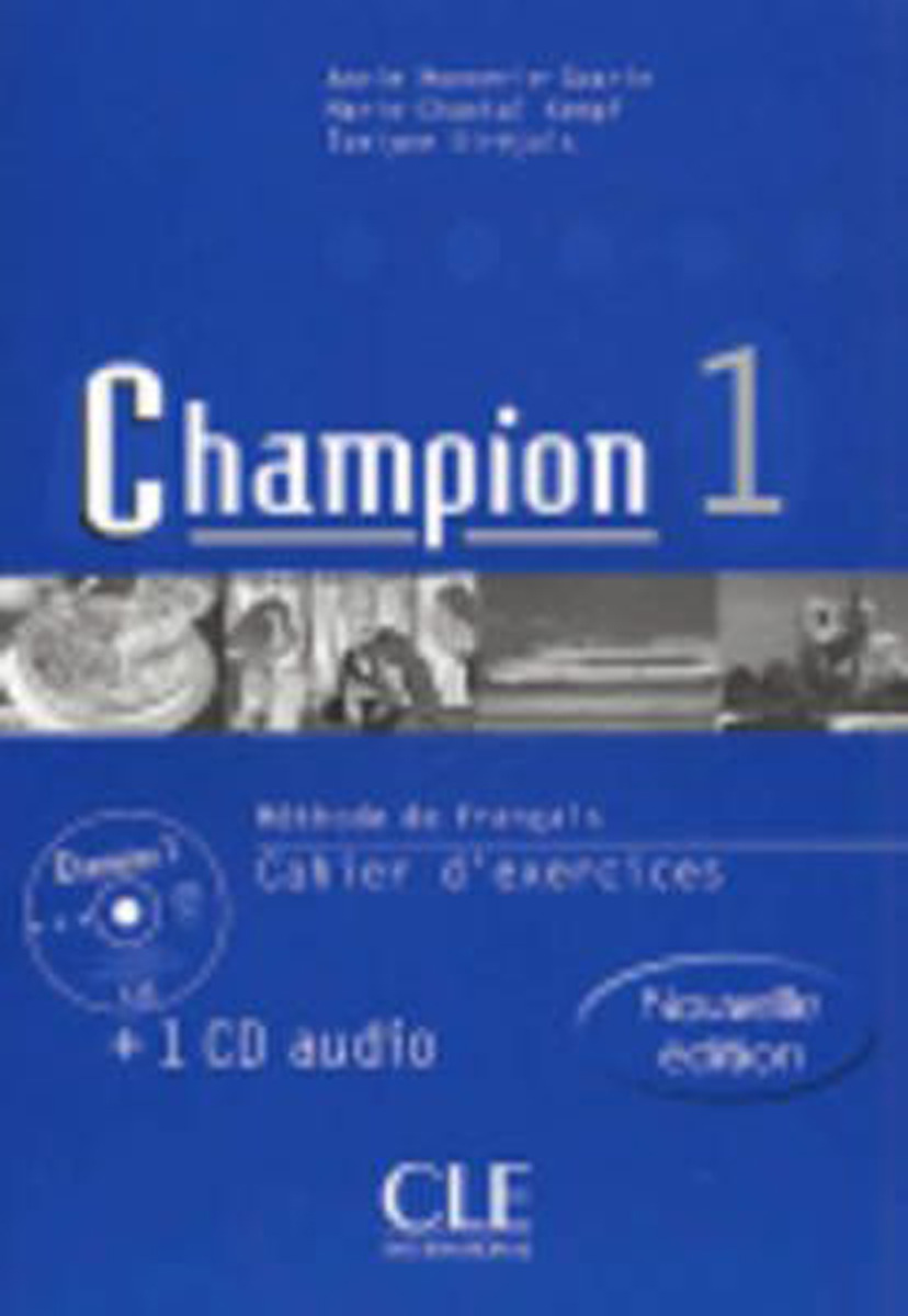Champion 1 nouvelle edition: Cahier d'exercices (+ CD audio) vite 1 cahier cd