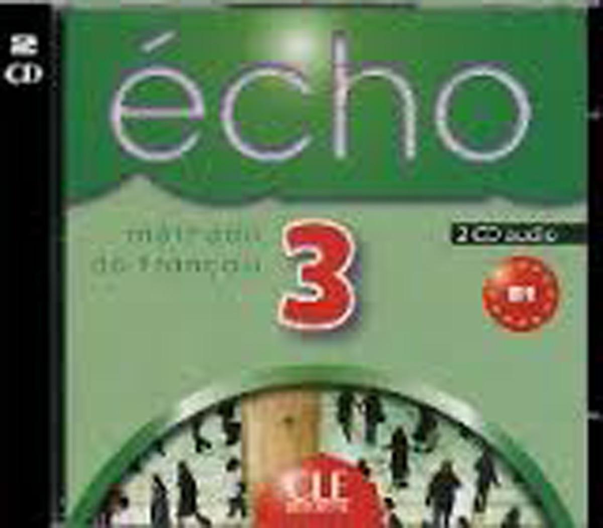 Echo 3: 3 CD Audio (лицензионная копия) agenda 3 cahier d activités в1 cd audio