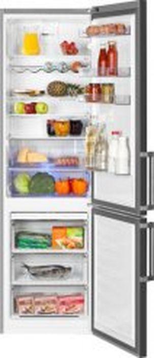 Холодильник Beko RCNK 356E21X, серый Beko