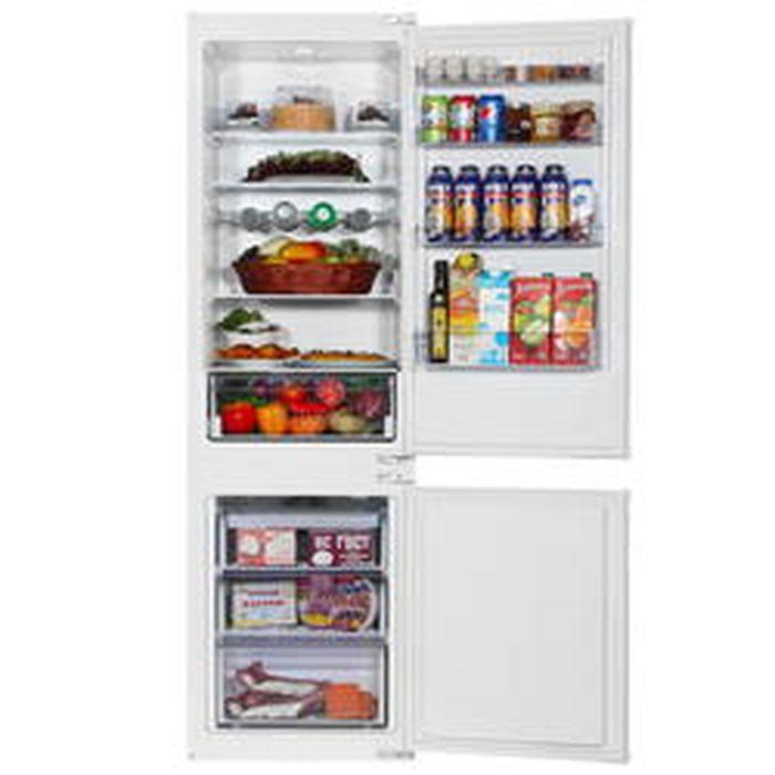Холодильник Beko BCHA 2752 S, двухкамерный, встраиваемый, белый Beko