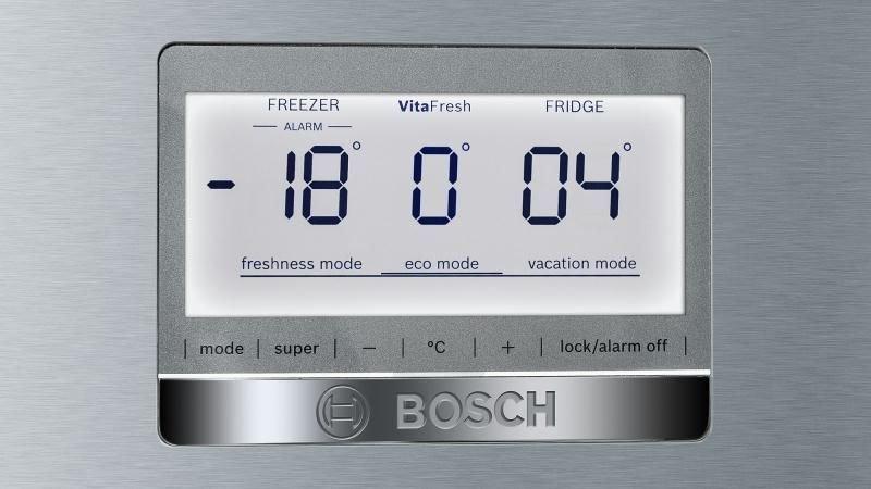 Холодильник Bosch KGF39PI3OR, двухкамерный, серебристый Bosch