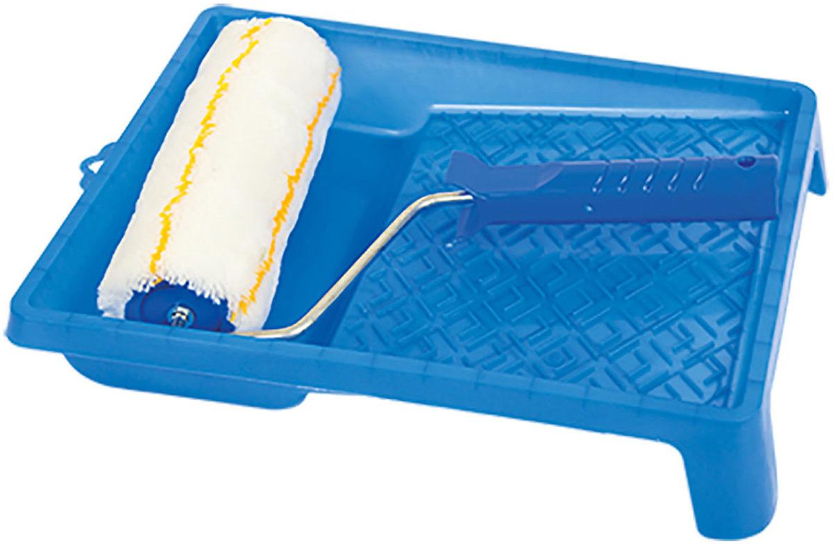 Набор малярного инструмента Korvus: валик, 18 см + ванночка, 26 х 31 см