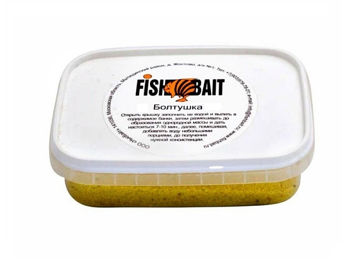 Прикормка FISHBAIT Болтушка насадка аромат - ваниль, 33