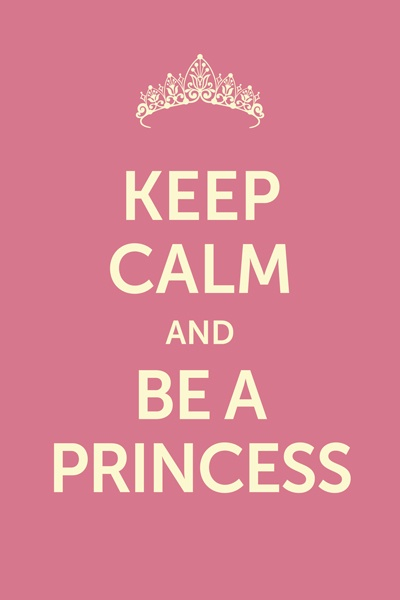 Декоративная табличка Экорамка Be a princess 20x30