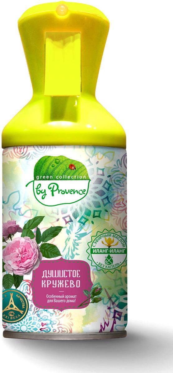 Освежитель воздуха Green Collection by Provence Душистое кружево, 250 мл освежитель воздуха grass silver флакон 250 мл