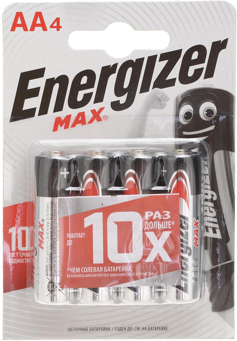 цена на Батарейка Energizer Max, тип АА/LR6, 1,5 V, 4 шт