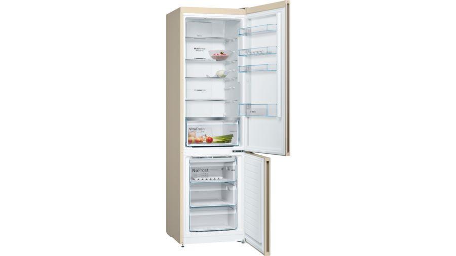 Холодильник Bosch KGN39VK22R, двухкамерный, бежевый Bosch