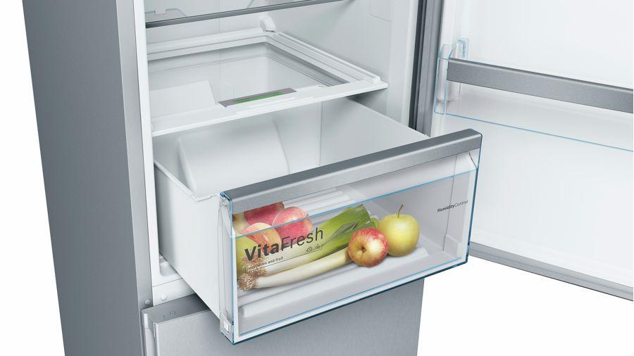 Холодильник Bosch KGN39VL22R, двухкамерный, нержавеющая сталь Bosch