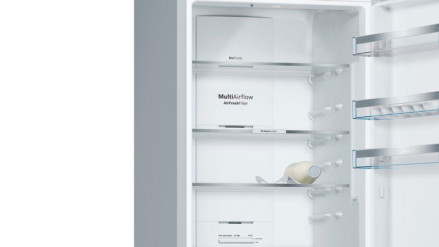 Холодильник Bosch KGN39XI32R, двухкамерный, серебристый Bosch