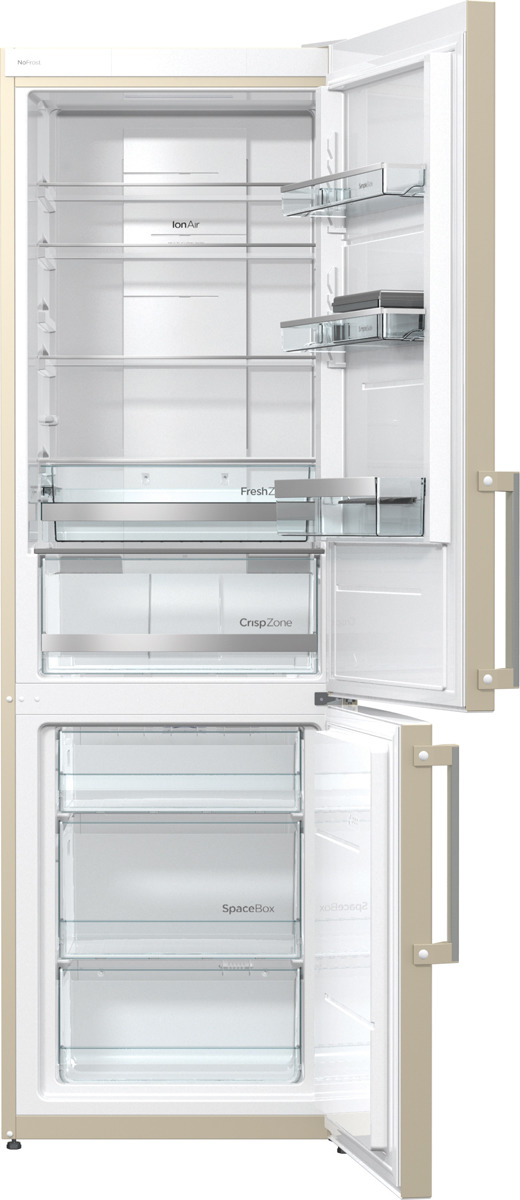 Холодильник Gorenje NRK6191MC, бежевый Gorenje