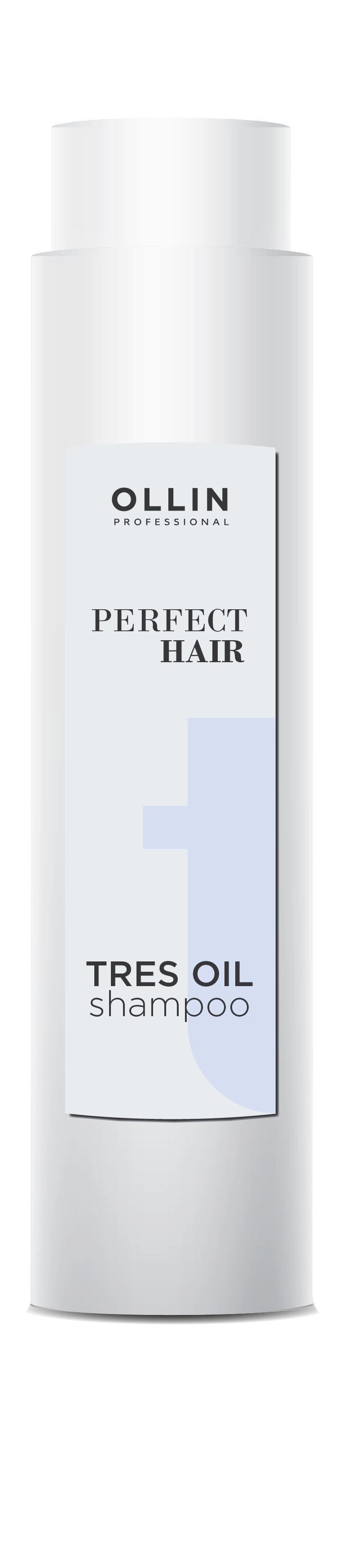 Шампунь для волос OLLIN PROFESSIONAL PERFECT HAIR для восстановления tres oil 400 мл набор для волос perfect hair tres oil 400 400 50 мл