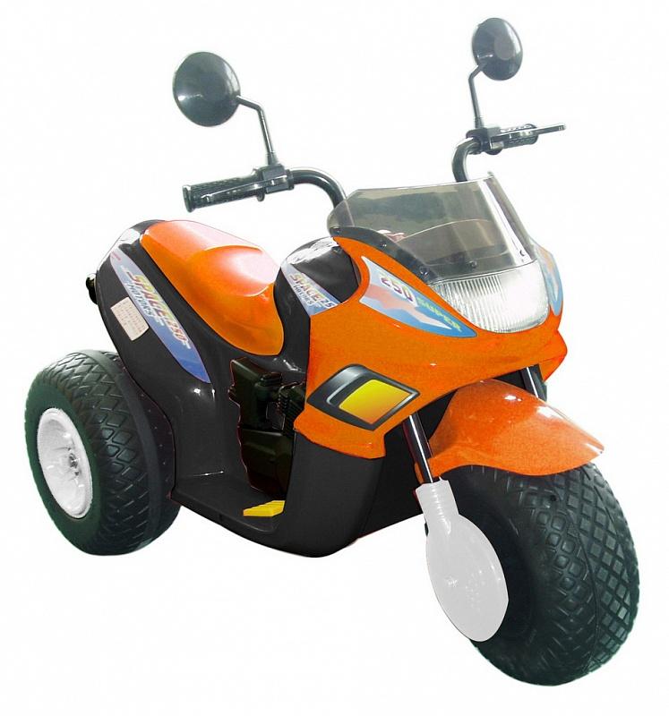 Электромобиль CHIEN TI CT-770, оранжевый на авто хонда срв при скорости 40 45 км час временами вибрация