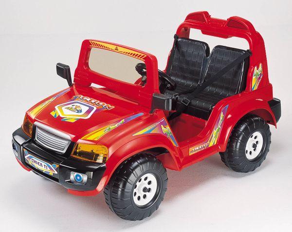 Электромобиль CHIEN TI CT-855, красный на авто хонда срв при скорости 40 45 км час временами вибрация