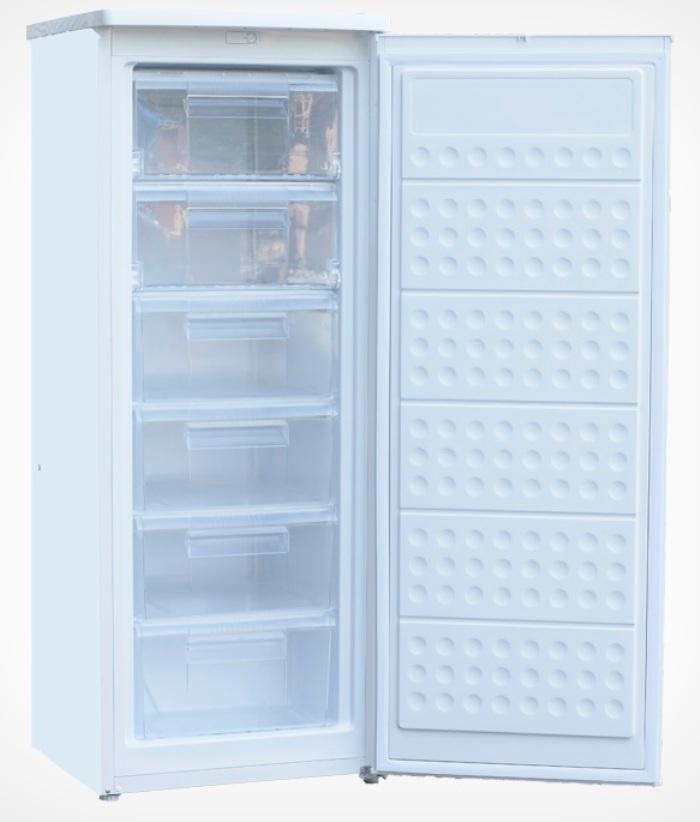 Морозильник  BZFD143-AFW, белый Объем морозильной камеры 168 л Ручное размораживание Класс...