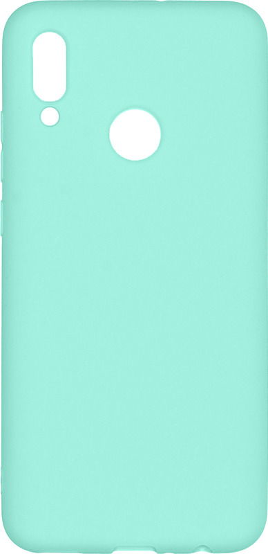 Чехол-накладка Pero для Huawei P Smart 2019, бирюзовый