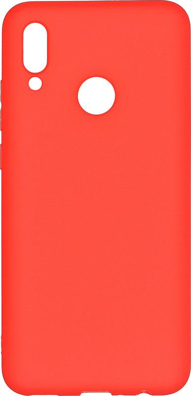 Чехол-накладка Pero для Huawei P Smart 2019, красный аксессуар чехол для huawei p20 lite pero soft touch turquoise prstc p20lc