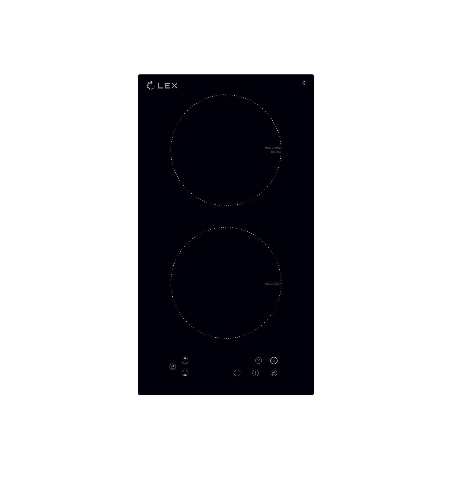 Варочная панель LEX EVI 320 BL, черный