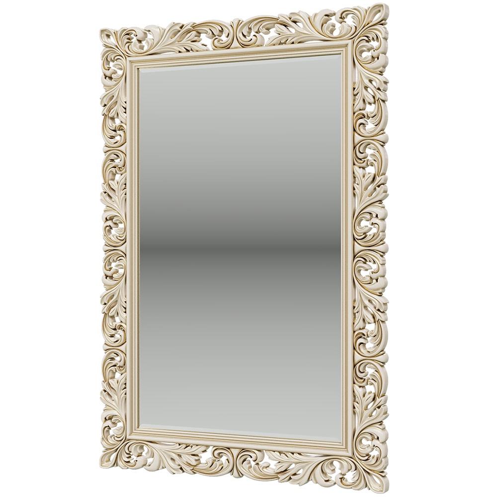 Зеркало ЗК-05, цвет слоновая кость, ШхГхВ 160х6х108 см., вешается горизонтально или вертикально object desire репродукция музейный экспонат версия 36 в картинной раме офелия