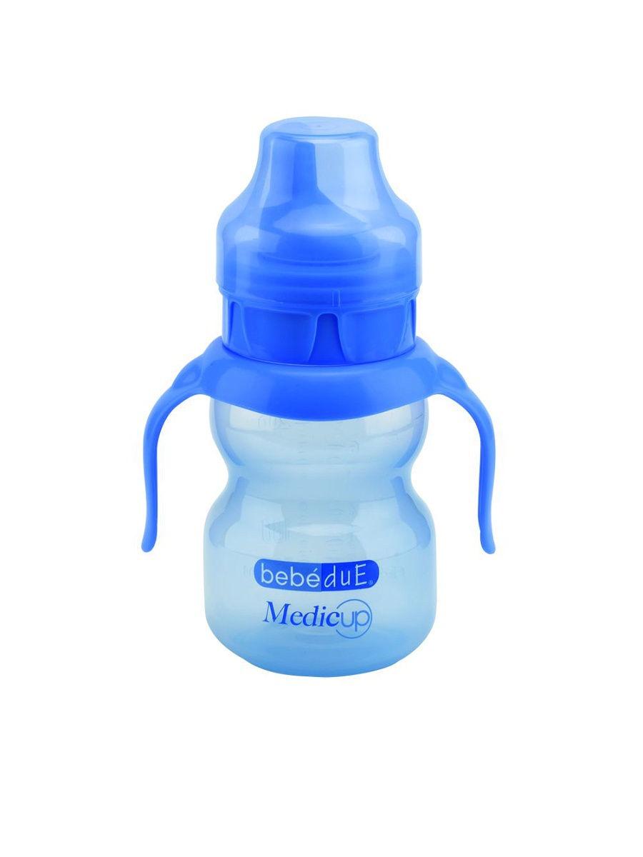 Бутылочка для кормления Bebe Due Бутылочка синий аксессуары для кормления nuk для мытья бутылочек и сосок 2 в 1