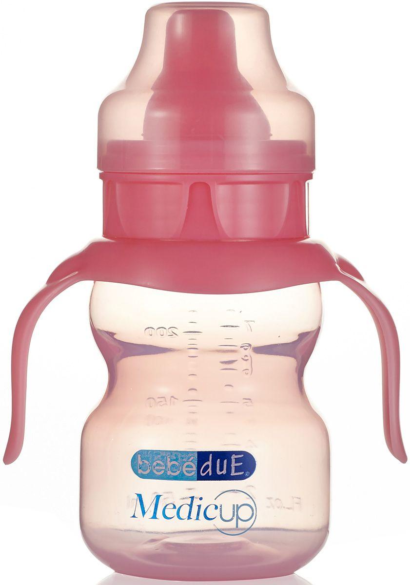 Бутылочка для кормления Bebe Due Бутылочка розовый аксессуары для кормления nuk для мытья бутылочек и сосок 2 в 1