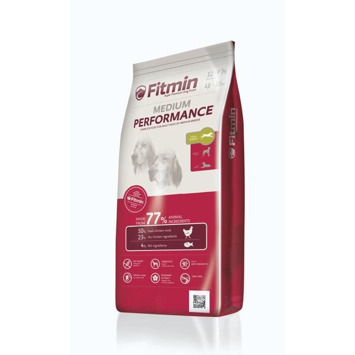 Fitmin 15 dog Medium Perfomance корм д/с средних пород с высокой активностью 15кг