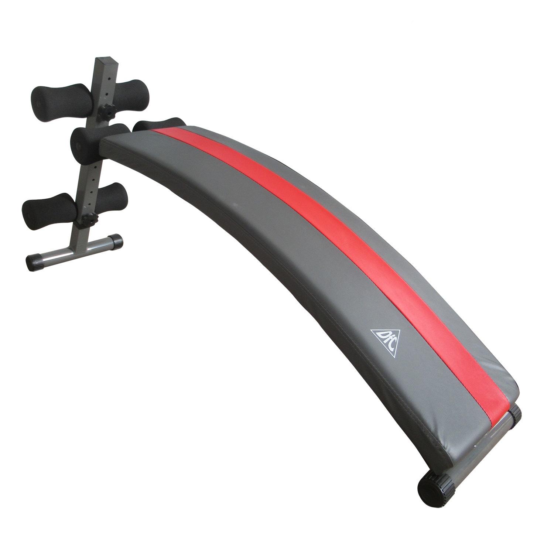 цена на Силовая скамья DFC D103B, серый, красный, черный