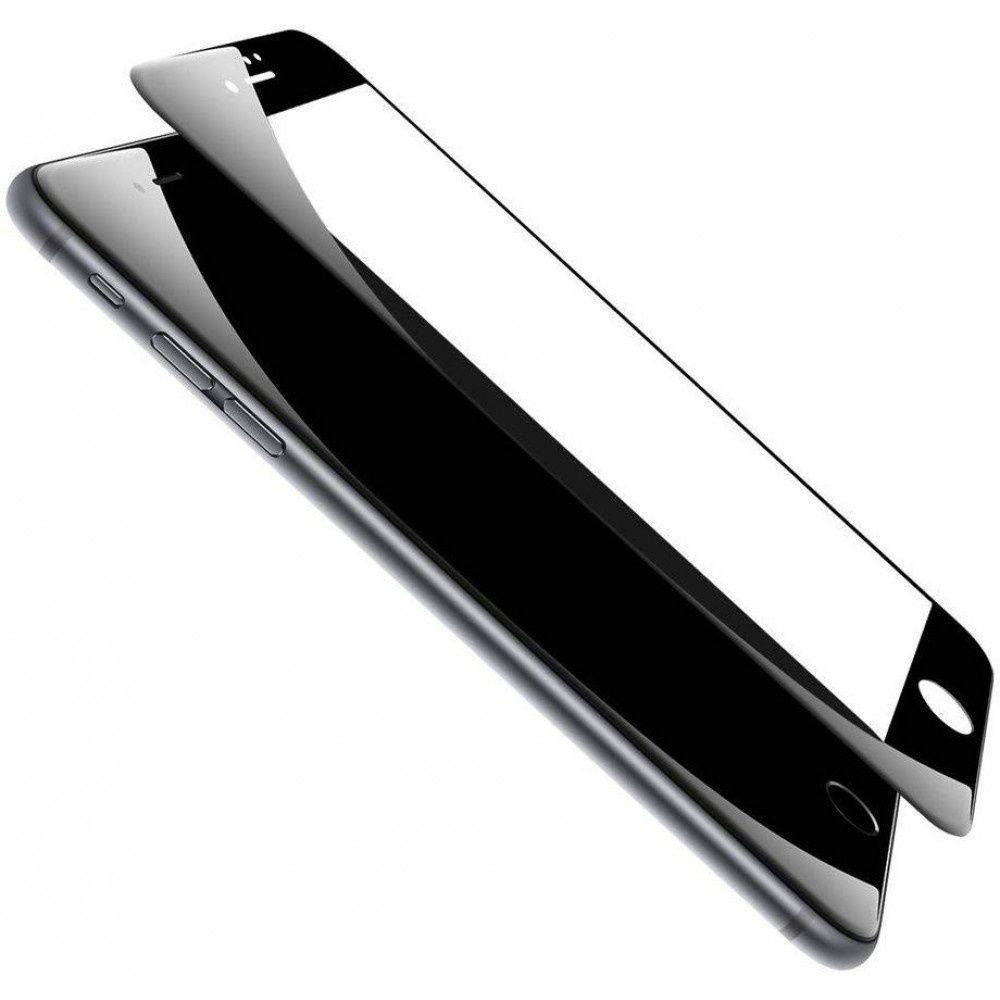 Защитное стекло ТЕХПАК 5D для iPhone 6/7/8, черный