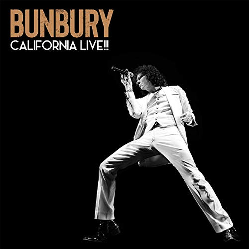 Bunbury Bunbury. California Live!!! (2 LP + CD)