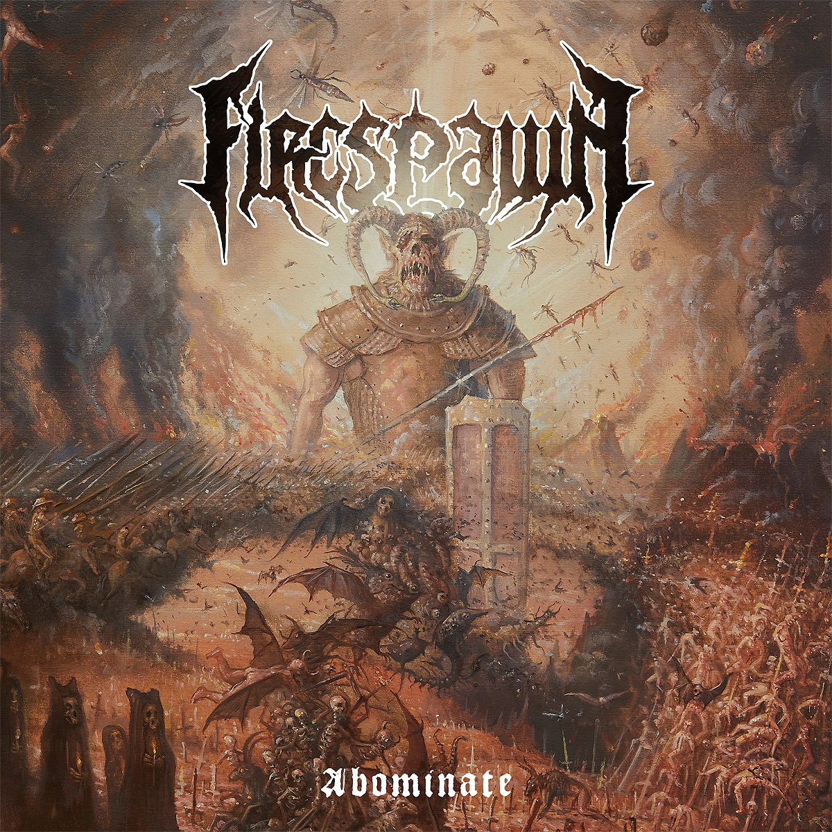 """Firespawn"" Firespawn. Abominate (LP+CD)"