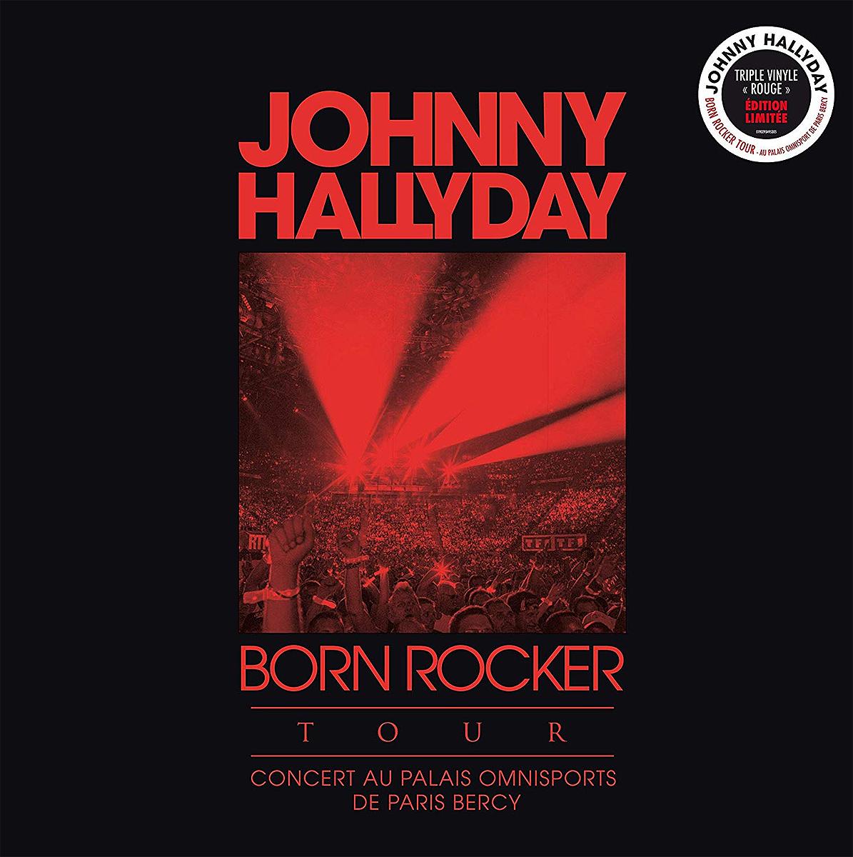 Джонни Холлидей Johnny Hallyday. Born Rocker Tour - Concert Au Palais Omnisports De Paris Bercy (3 LP) 2 2013