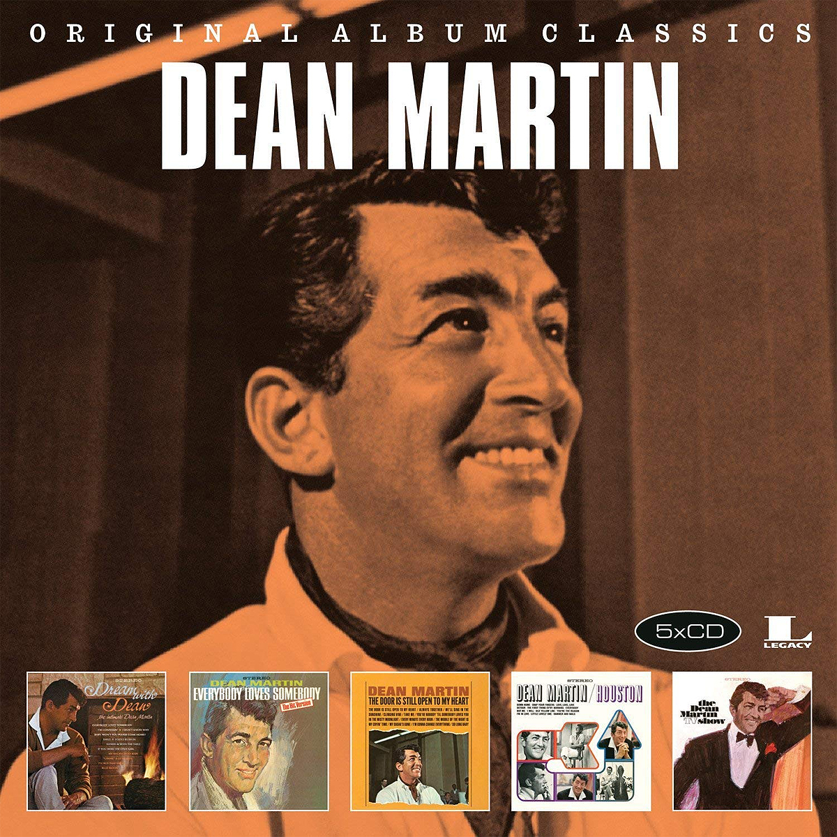Дин Мартин Dean Martin. Original Album Classics (5 CD) original new innolux 5 6 inch at056tn53 v 1 lcd screen with touch
