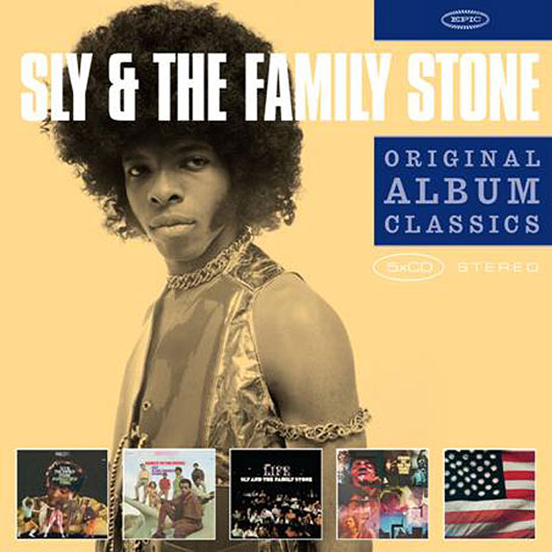 Sly & The Family Stone Sly & The Family Stone. Original Album Classics (5 CD) original new innolux 5 6 inch at056tn53 v 1 lcd screen with touch