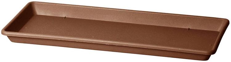 Поддон Teraplast Кассета, какао, 32 х 75 х 3 см поддон для балконного ящика ingreen цвет белый длина 60 см