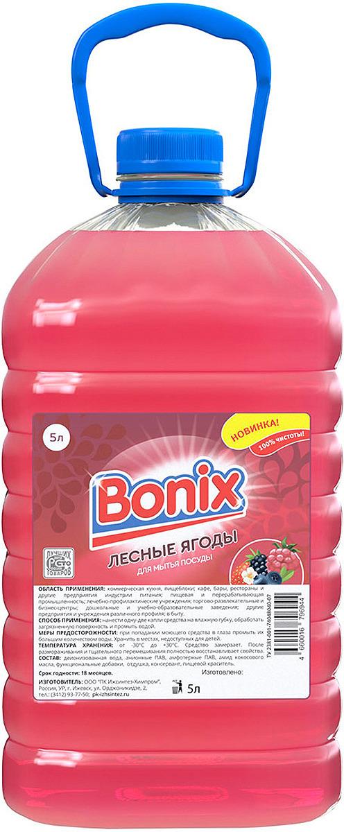 купить Средство для мытья посуды Bonix Лесные ягоды, 5 л по цене 321 рублей