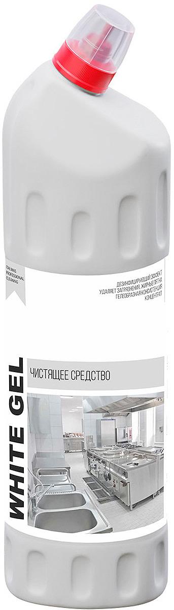 Средство для ванной и туалета Italmas Professional Cleaning White Gel, 1 л аксессуар рекомендуем чистящее средство vanguard cleaning kit 3 in 1 ck3n1
