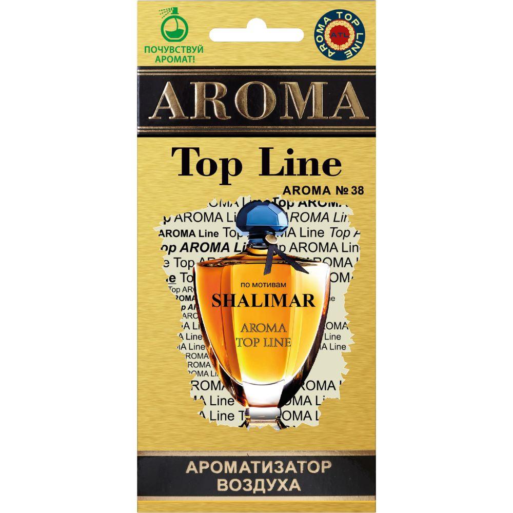 Автомобильный ароматизатор AROMA TOP LINE 38 Shalimar Guerlain автомобильный ароматизатор golden snail aroma football ванильный крем