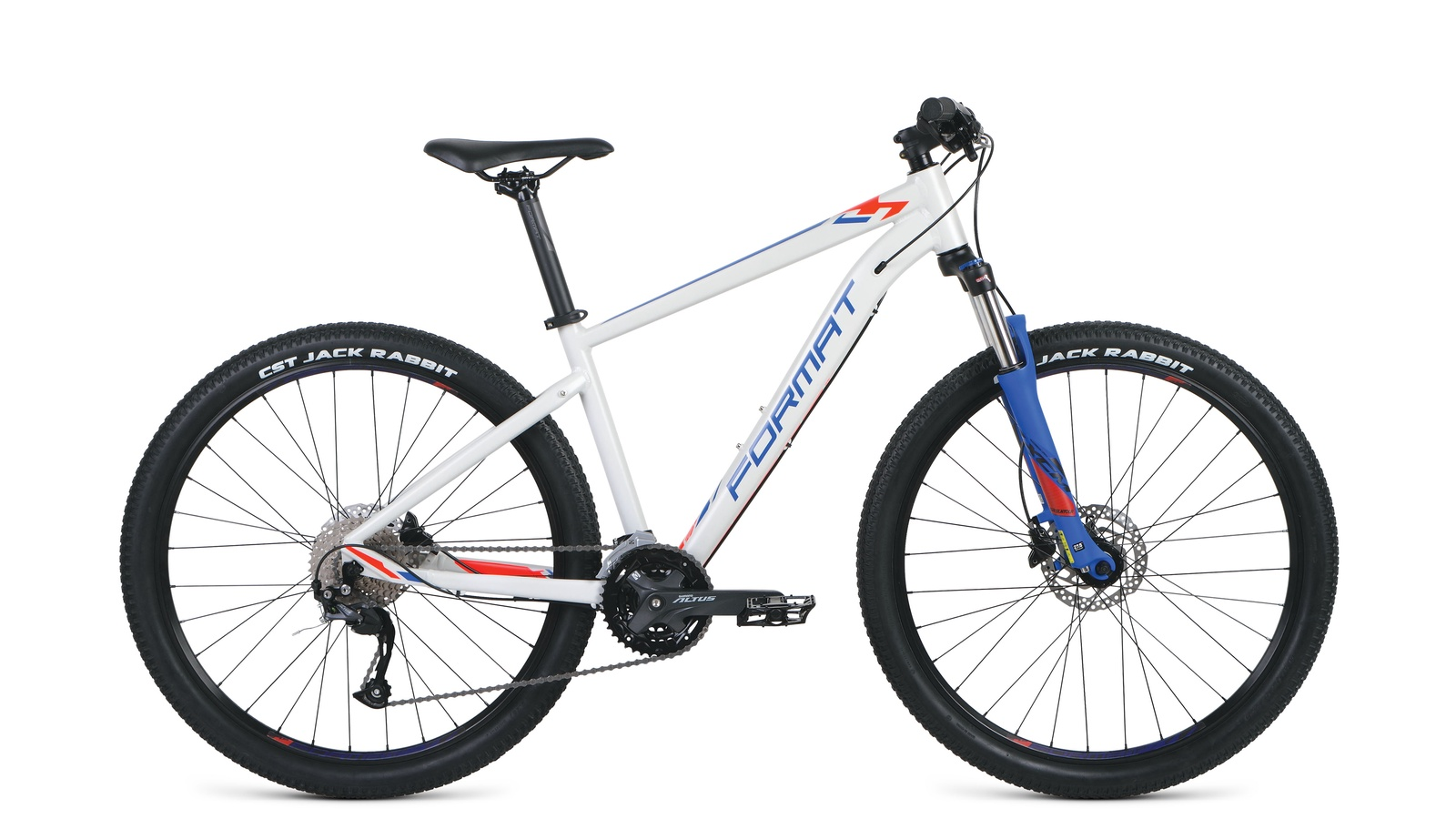 цена на Велосипед Format RBKM9M67S015, белый