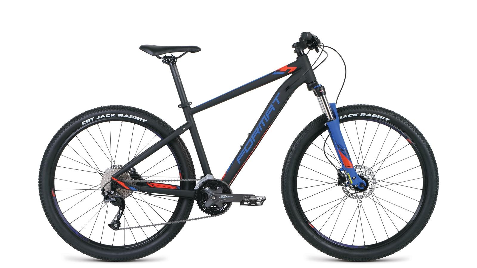цена на Велосипед Format RBKM9M67S014, черный