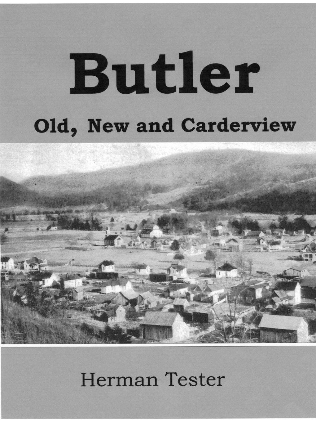 Herman Tester Butler; Old, New and Carderview tom butler bowdon the republic the influential classic isbn 9780857083272