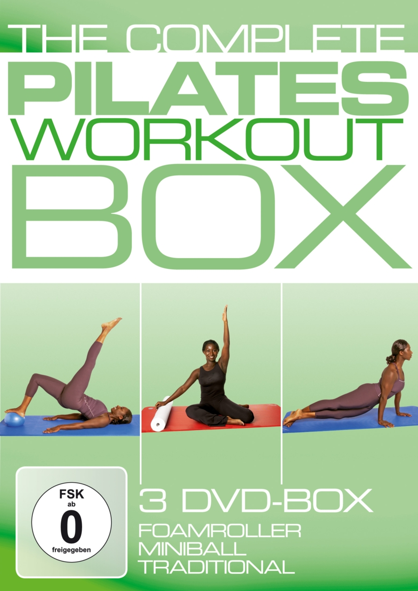 Juliana Afram: The Complete Pilates Workout B (3 DVD) стоимость