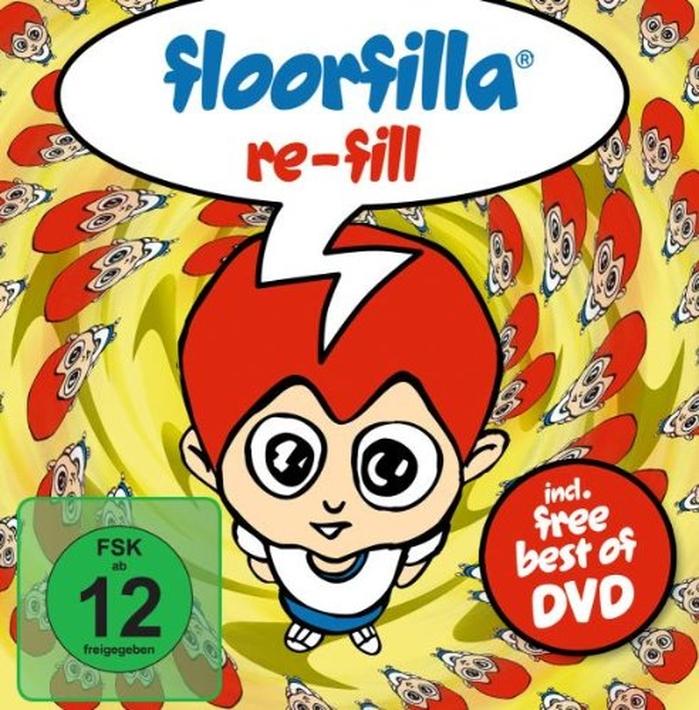 цена на Floorfilla: Re-Fill (DVD + CD)