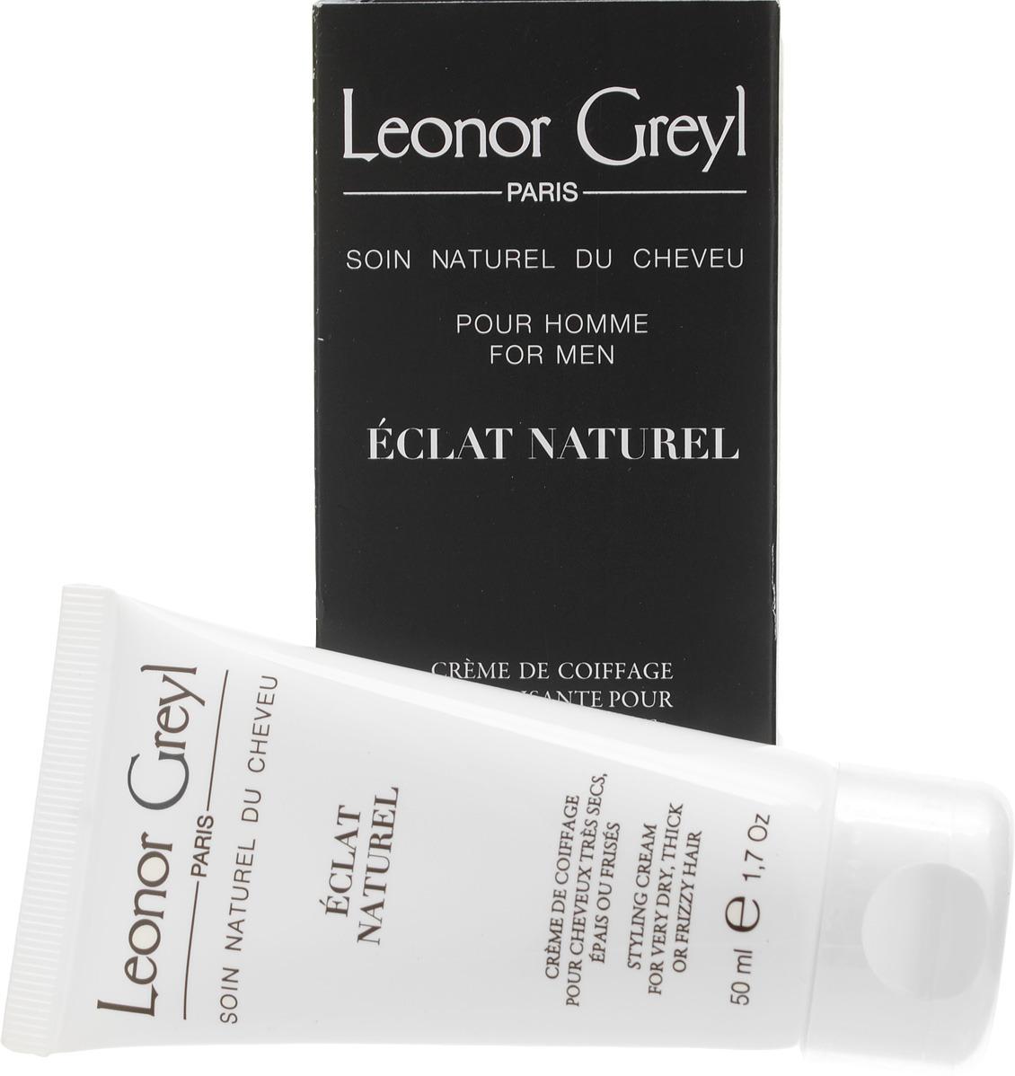 Мужской крем-блеск для волос Leonor Greyl, 50 мл leonor greyl восстанавливающий шампунь shampooing reviviscence 200 мл