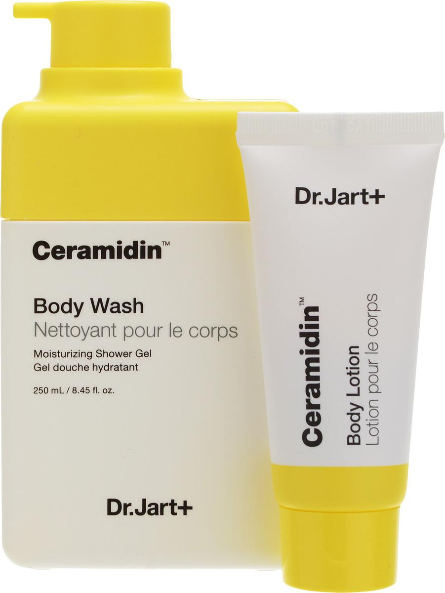 Косметический набор Dr.Jart+ Ceramidin Гель для душа, 250 мл + Лосьон для тела, 30 мл