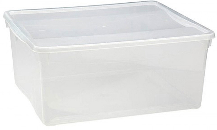 Ящик универсальный Econova Кристалл, 40 х 33,5 х 17 см ящик универсальный econova кристалл 55 5 см х 39 см х 19 см