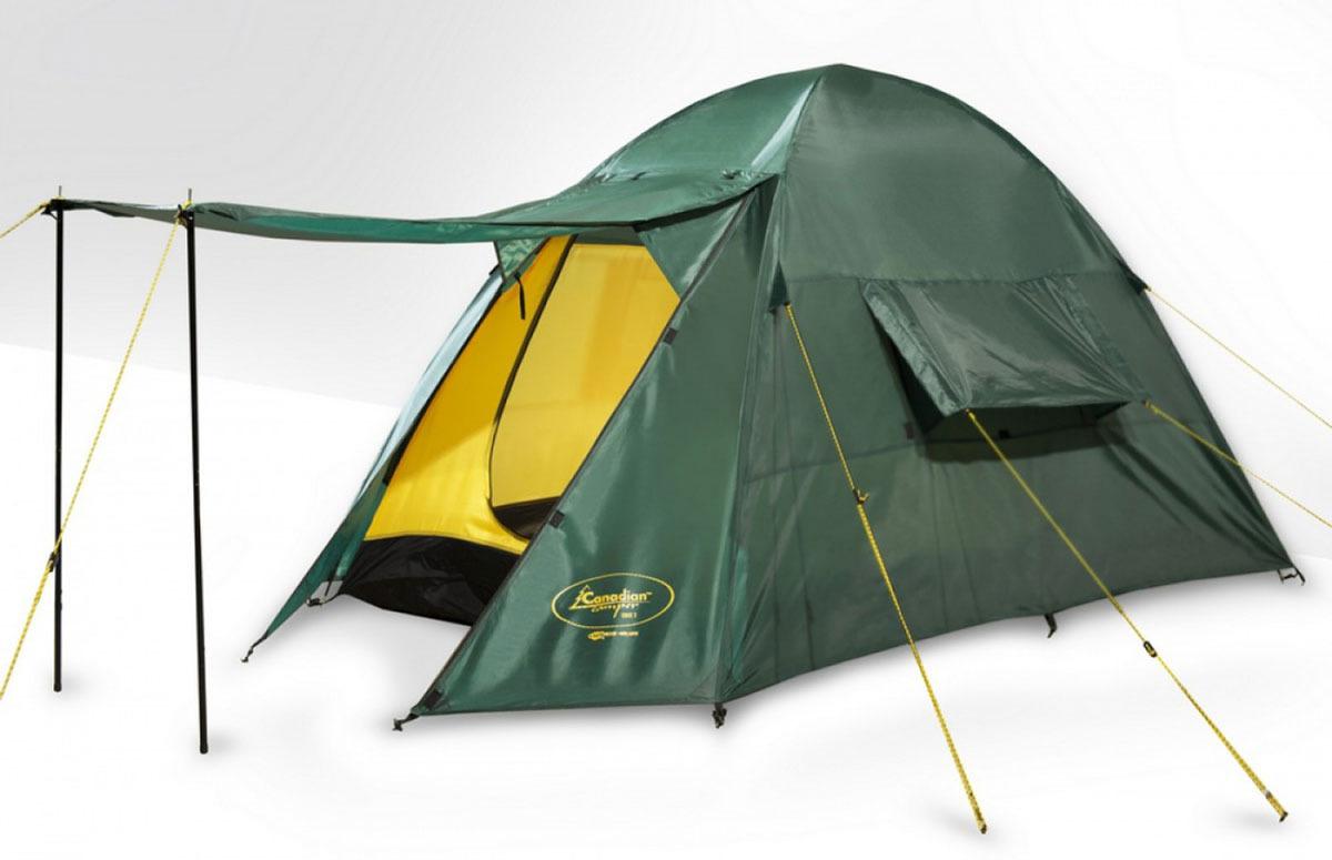 Палатка CANADIAN CAMPER ORIX 3 (цвет woodland) тент canadian camper safary цвет woodland высота 250см со стойками