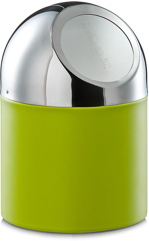 Контейнер для мусора Zeller, настольный, 27204, светло-зеленый, 18 х 12 х 12 см контейнер для мусора tescoma clean kit настольный цвет белый 2 4 л